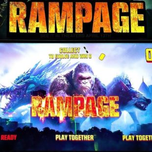 """Rampage Video Game"" Amazing Game Ever