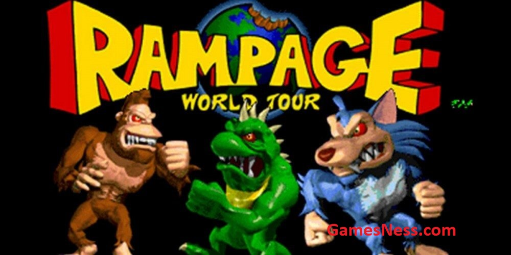 ps4 rampage video game