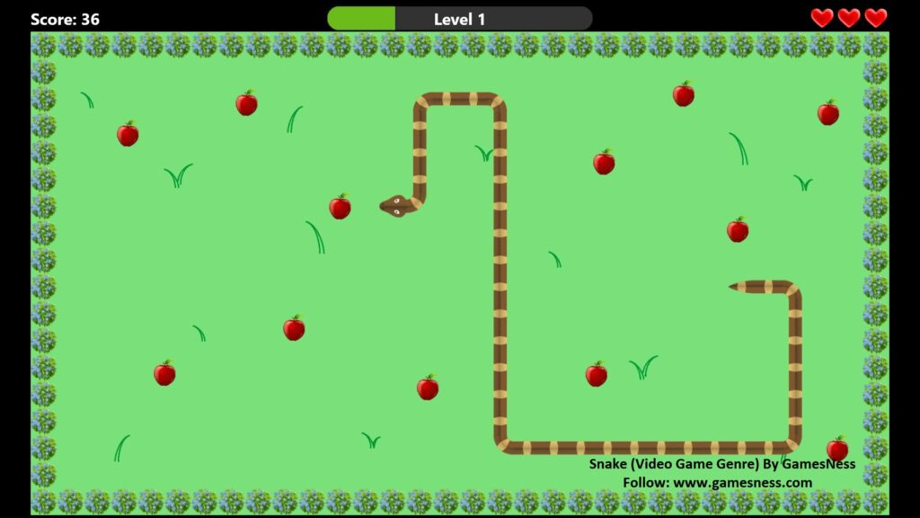 Snake (Video Game Genre)