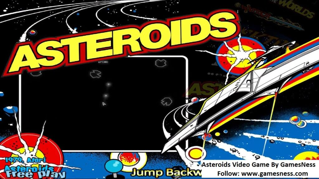 Asteroids Video Game